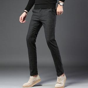 Summer Men Dress Pants Classic Business Casual Straight Trousers High Quality Fashion thin Suit Pants Loose Men Pantalon Hombre