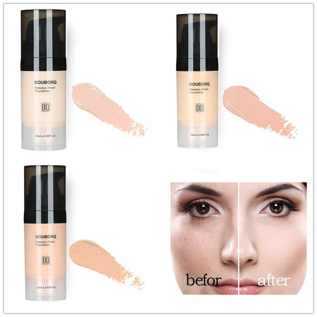 Foundation Base Makeup Professional Face Matte Finish Liquid Make Up Concealer Cream Waterproof Brand Natural Cosmetic 2