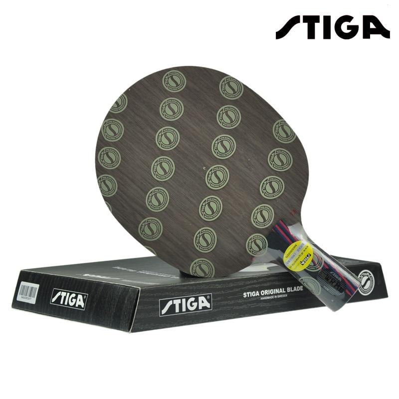 STIGA CARBON 7.6 WRB Table Tennis Blade (7+6 Carbon Ply) Racket Ping Pong Bat Paddle