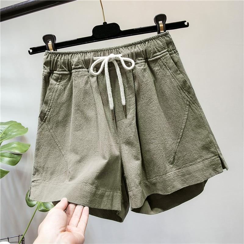 2018 NEW Summer Women Colorful Fringe Denim Shorts Cotton High Waist 6 Colors Plus Size Fashion Shorts
