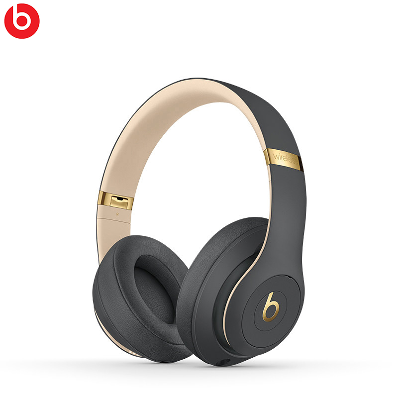 цена на Beats Studio3 Bluetooth Noise Cancelling headphones wireless over-ear headphones stereo Sport Music Headset with microphone