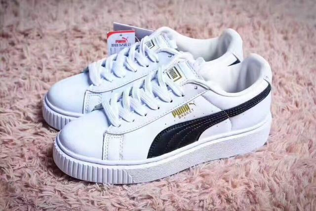 c9a8807b44f 2018 New Arrival PUMA Fenty by Rihanna Cleated Creeper Suede Sneakers men s  Badminton shoes Size 40-44