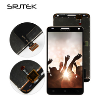 Srjtek Screen For Lenovo S580 LCD Display Touch Screen Digitizer Panel Assembly Replacement Parts 5 0