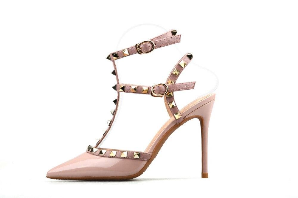 Xiangxuerou En verano, nuevas puntas de sauce ahuecadas de charol y - Zapatos de mujer - foto 3