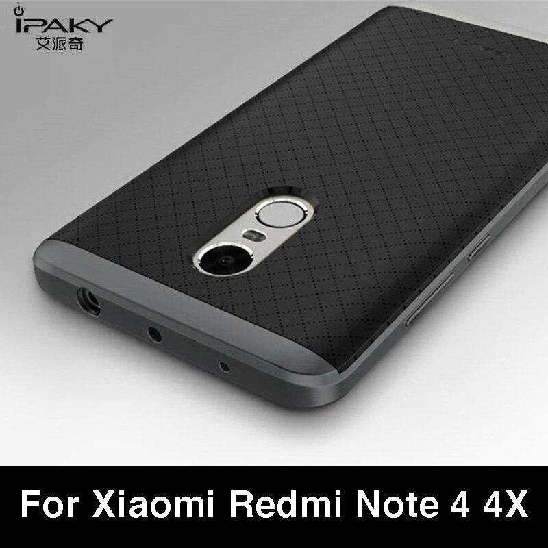 premium selection c1109 e6a4e US $4.99 |Aliexpress.com : Buy xiaomi Redmi Note 4x case Xiaomi Redmi Note  4 case Original Ipaky Luxury PC Frame + back Cover For Redmi Note 4 4x ...