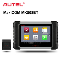 Autel MaxiCOM MK808 BT OBD2 Car Diagnostic Tool Automotive Scanner Diagnosis Functions of EPB/IMMO/DPF/SAS/TMPS Reset