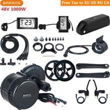 Bafang 8fun 48V 1000W BBSHD BBS03 Mid Drive Motor Kits With 48V 17AH Lithium Battery C961