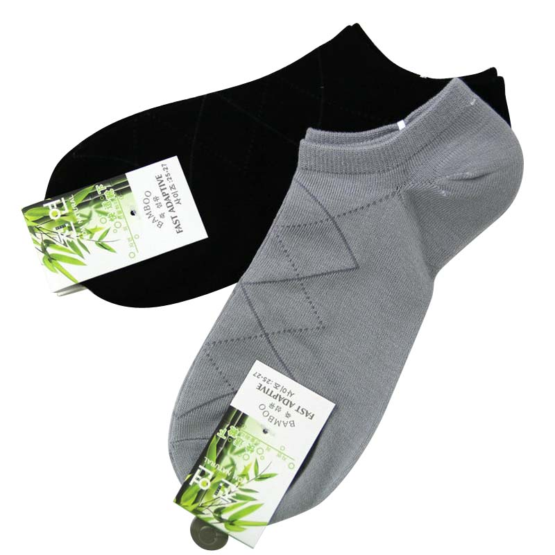 Lucidity Man Socks Bamboo Mens Socks Fashion Lozenge Summer Brand Socks For Mens 5pair/lot