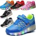 Bebé roller skate shoes jazzy júnior para zapatillas de bebé con ruedas tamaño eur 28-43