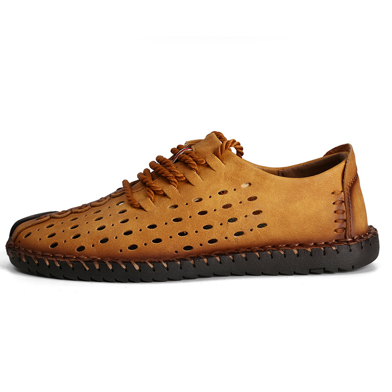 Des Creux Chaussures as Style Gratuite Cuir The Occasionnels As Picture En De Respirant Mode Nouveau Véritable Picture Hommes Main Livraison 4x78q7Y