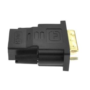 Image 4 - AMKLE 24 + 1 دبوس DVI محول hdmi مطلية بالذهب HDMI/F إلى DVI/M محول الفيديو 1080P ل PS3 العارض HDTV