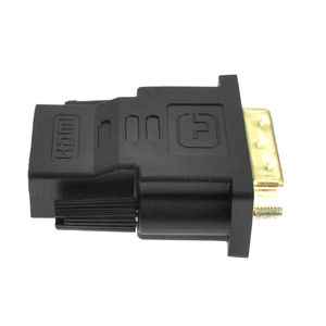 Image 4 - AMKLE  24+1 Pin DVI HDMI Adapter Gold Plated HDMI/F to DVI/M Video Converter 1080P for PS3 Projector HDTV