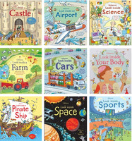 1pcs 27X24CM BOY GIRL STORY PICTURE BOOK Learning English From These Story Book Kid Cartoon Books
