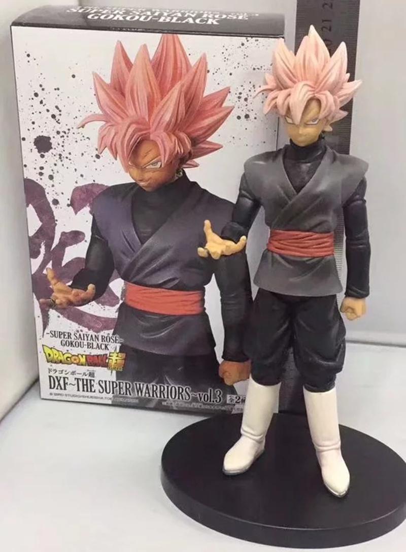 Dragon Ball Super Black Goku Super Saiyan Rose Action Figure