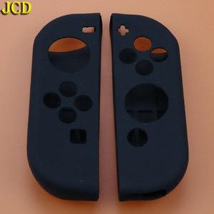 Image 3 - JCD 1 pièces accessoires de jeu couvercle de boitier en silicone souple peau gauche droite pour interrupteur nessa NS Joy Con contrôleur de Console