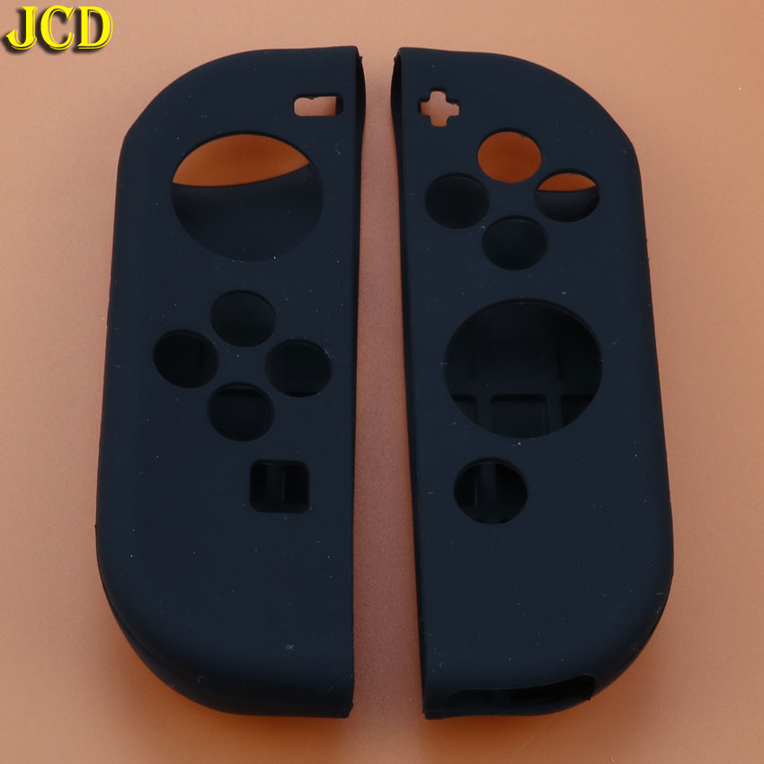 Image 3 - JCD 1pcs Game Accessories Soft Silicone Case Cover Skin Left Right for Nintend Switch NS Joy Con Console Controller-in Cases from Consumer Electronics