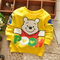 2017 New Fashion Baby Clothing Baby Boys Girls Sweatshirt Child Hoodies 0-2T Children Clothing Long Sleeve T Shirt Wholesale