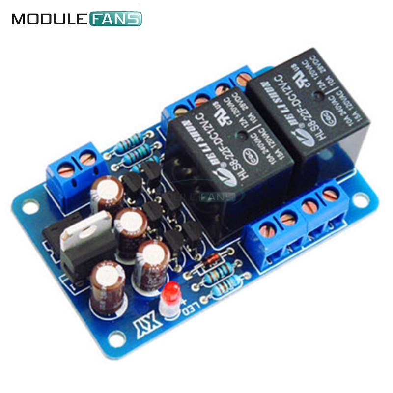 Speaker Protection Board Component Audio Amplifier Diy Boot Delay Dc Protect Kit For Stereo