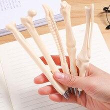 1 шт. продвижение продаж имитация кости шариковые студенческие ручки Шариковая ручка школьные офисные принадлежности Обучающие канцелярские принадлежности