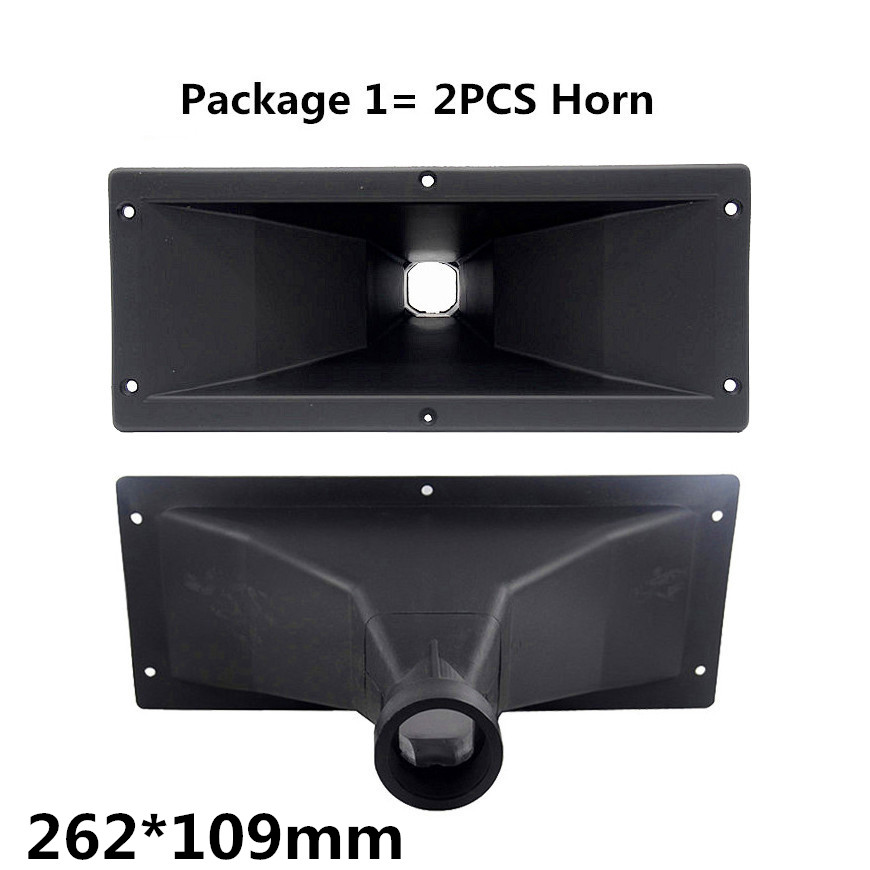 Finlemhom  Tweeter Speaker Accessories Treble Horn 262*109 For DJ Speaker Home Theater Karaoke Mixer Professional Audio PA262 DJ