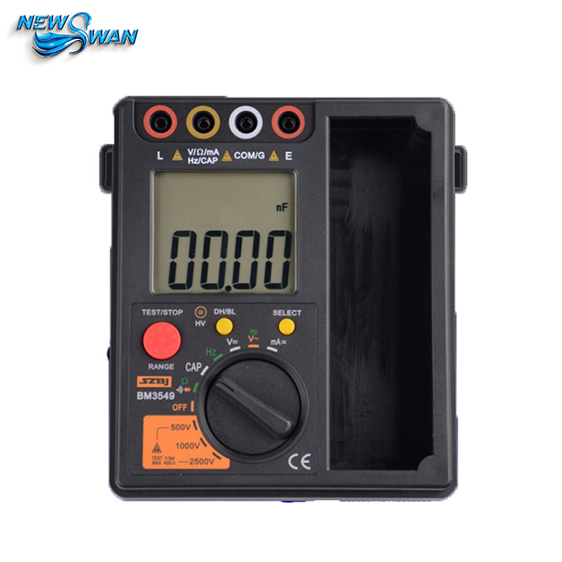 Professional BM3549 Digital Megger Insulation Tester Resistance Test Meter Digital Insulation Resistance Tester Multimeter 2500V 2017 mastech ms5202 digital analogue dual display pointer megger megometro insulation resistance tester max to 2500v 100000 mohm