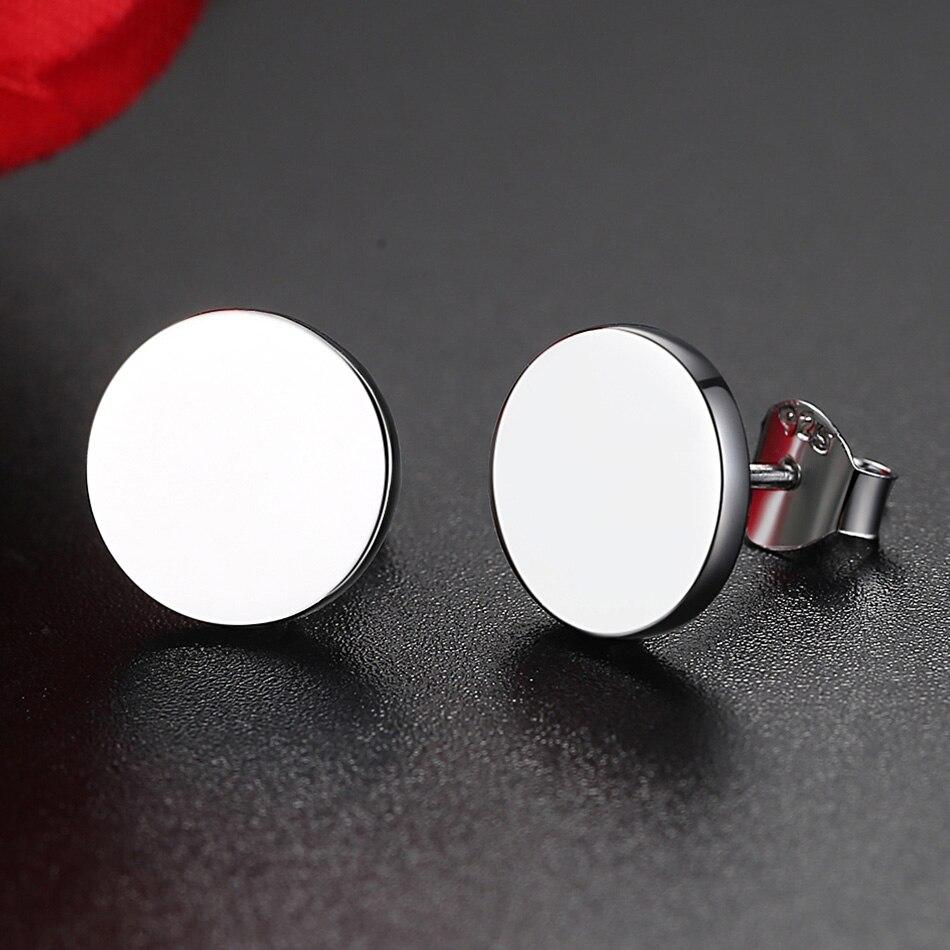 miglior sito web dfd5c 5da8c 2019 Fashion Cool 925 Sterling Silver Stud Earrings Personalized ...