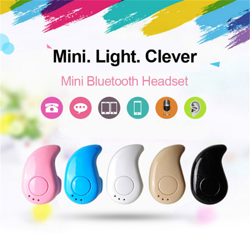 S530 Wireless Portable Mini Stereo Bluetooth Earphones Music Sports With Mic Earpiece Earbud For Iphone Xiaomi Samsung PK A8 A9