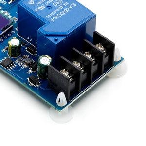 Image 5 - 6 60v 30A 10A Lead acid Solar Battery Charge Controller Protection Board charger Time switch 12v 24v 36v 48v battery capacity