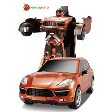 Free Shipping SUV Car Models Deformation Robot Transformation Remote Control RC Car Toys for Children Kids