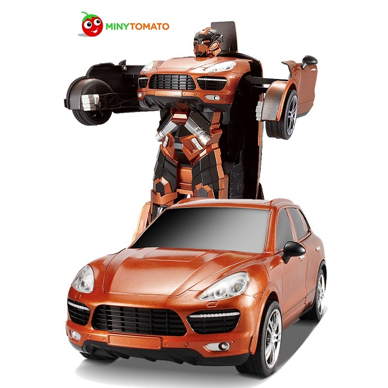Free Shipping SUV Car Models Deformation Robot Transformation Remote Control RC Car Toys for Children Kids Gift TT664