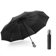 Sun Umbrella Business Men 8K-10K Folding Umbrellas Sunscreen Anti UV Parasol Windproof Fully-automatic /Non-automatic