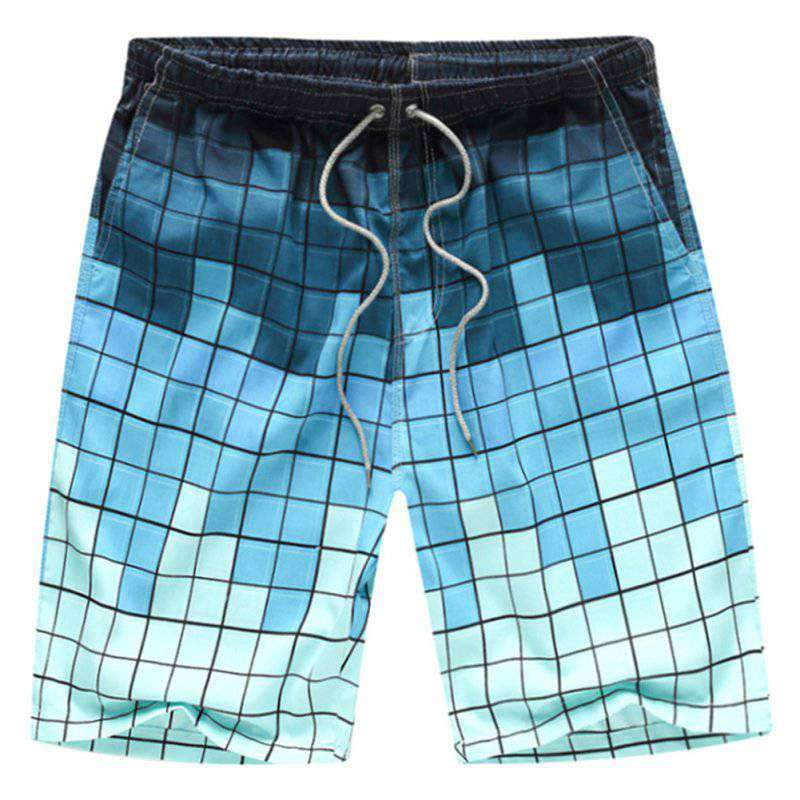 Summer Breathable Men Beach Printed Water Sports Brand Surf Sports Boardshorts Board Quick Dry Shorts