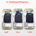 Middle Back Frame Chassis Plate Bezel Back Housing For Samsung Galaxy S6 G920F S6 edge G925F S6 edge plus G928F Replacemenrt