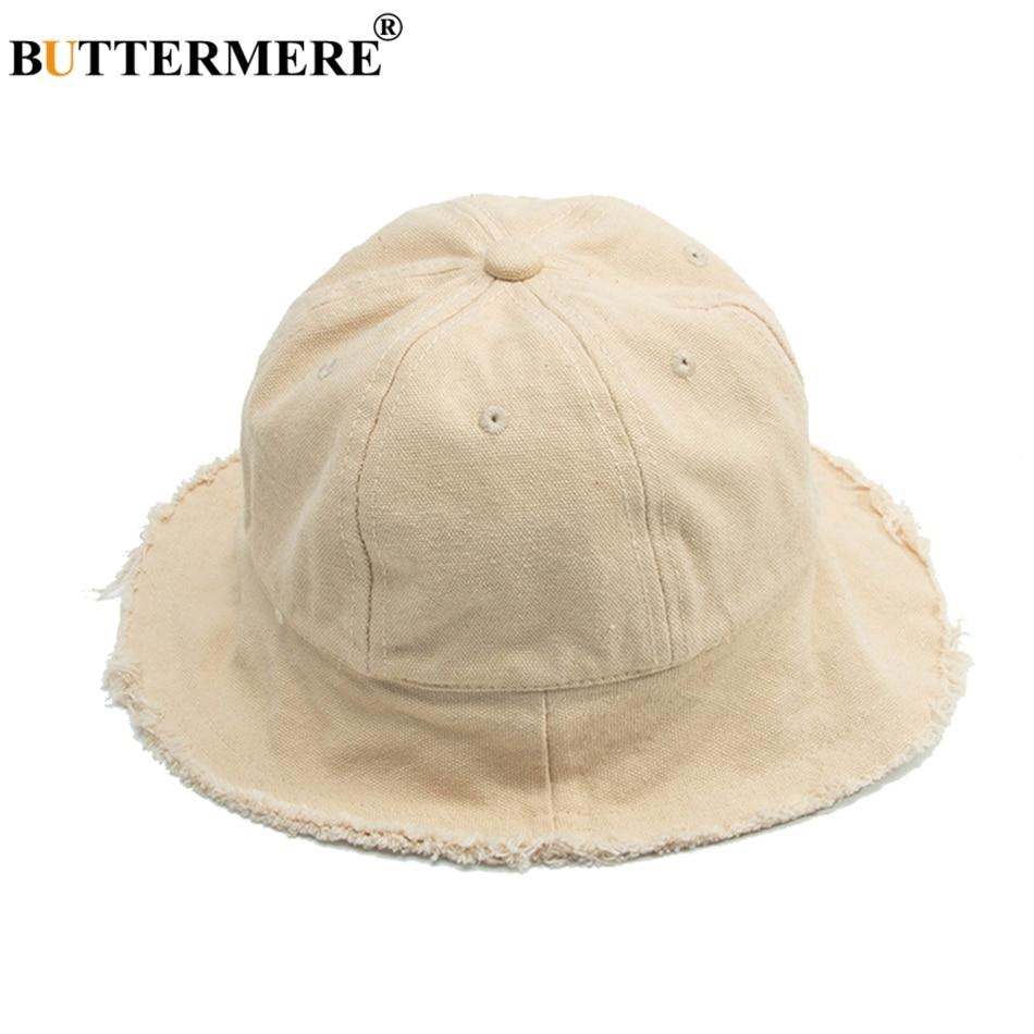 fd48131d729 BUTTERMERE Cotton Fishing Hat Children Summer Casual Off-white Bucket Hat  Boys Girls Bucket Caps Spring Kawaii Fashionable 2019