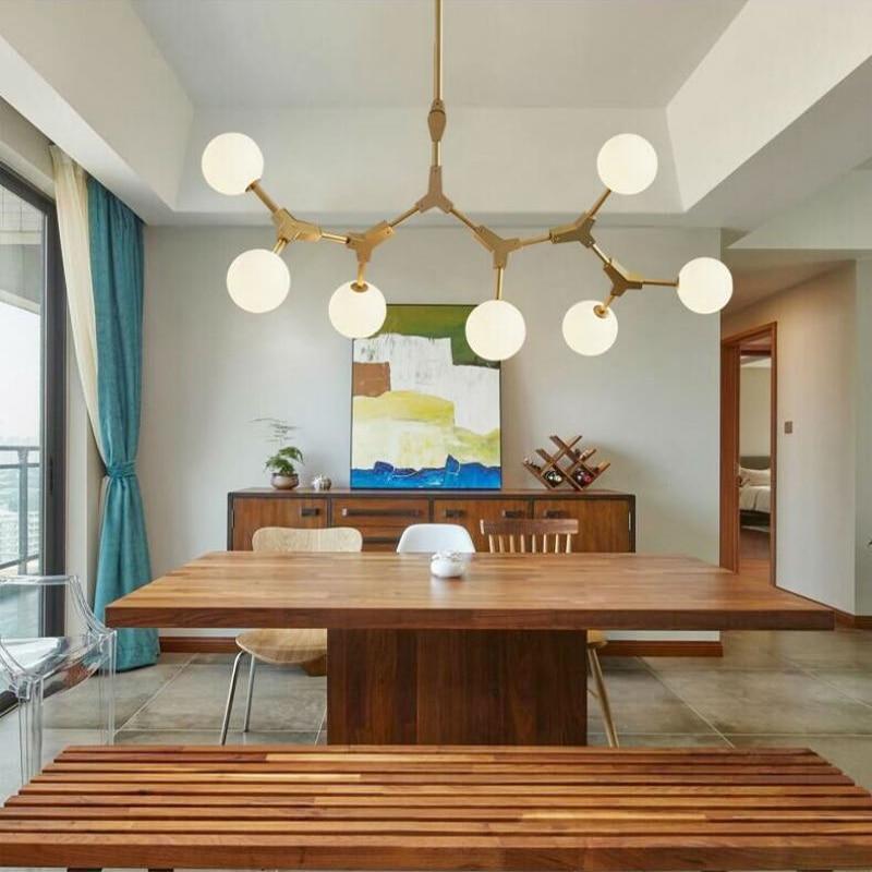 Modern pendant lights for kitchen living dining room black gold body vintage Pendant Lamp industrial fixtures lighting