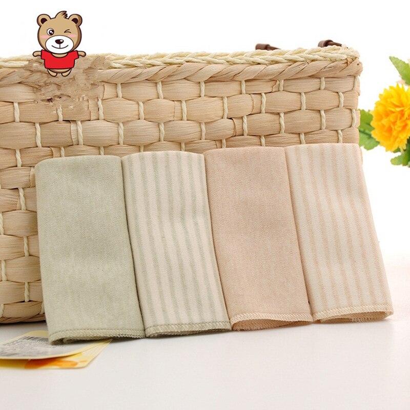10 PCS/lot Baby Cotton Towel Organic Cotton Baby Soft Towel Towel Slobber ATRK0099