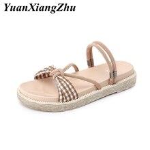 womens flat sandals shoes woman slippers plus size platform femme sandalias buty damskie 2019 summer zapatos de mujer