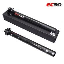 EC90 горных и шоссейных велосипедов Труба из углеродистого волокна 3K полный углеродного волокна подседельный штырь для горного велосипеда, углеродное волокно для велосипеда, подседельный штырь для MTB велосипеда, части 27,2/30,8/31,6*350 мм