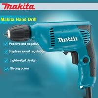 Japan Makita Electric Drill 6413 Household Hand Drill Multifunctional Speed Regulation Self Locking Chuck 450W 3,000RPM Powerful