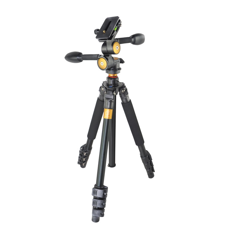 DHL QZSD Q470 Profession Tripod For Camera Video Recorder Camera Tripod Ball Head Aluminium Alloy For