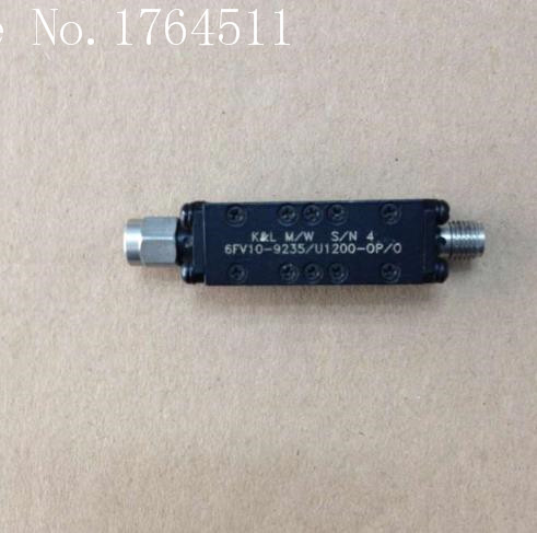 [BELLA] K&L 6FV10-9235/U1200-OP/O 8.6-9.9GHZ RF Bandpass Filter SMA (F-M)