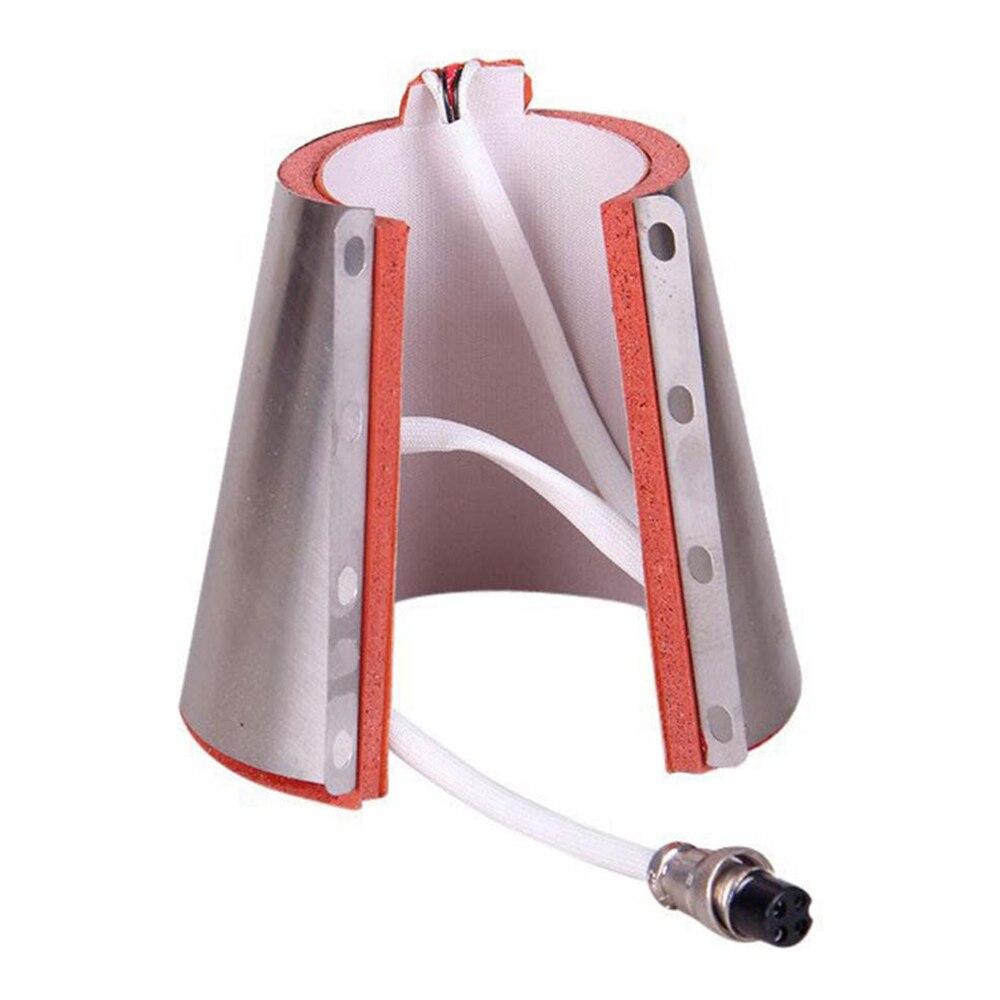 220V 12oz Small Conical Mug Heat Transfer Wraps Silicon