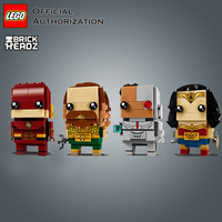 LEGO Building Blocks Toys Brick Headz Series Justice League Toy lego Wonder Woman Model Little Doll toy Building BlockBrinquedos