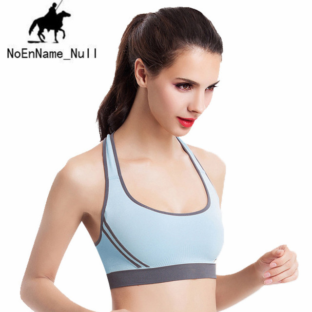 9e348fea911e1 Hot Sale Brand New Women Cross Design Sports Bra Push Up Shockproof Vest  Tops Yoga Running Fitness Bras 15