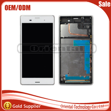 White/Black/Gold Three Color For Sony xperia z3 D6603 D6653 L55t LCD Display With Touch Screen Digitizer Free Shipping
