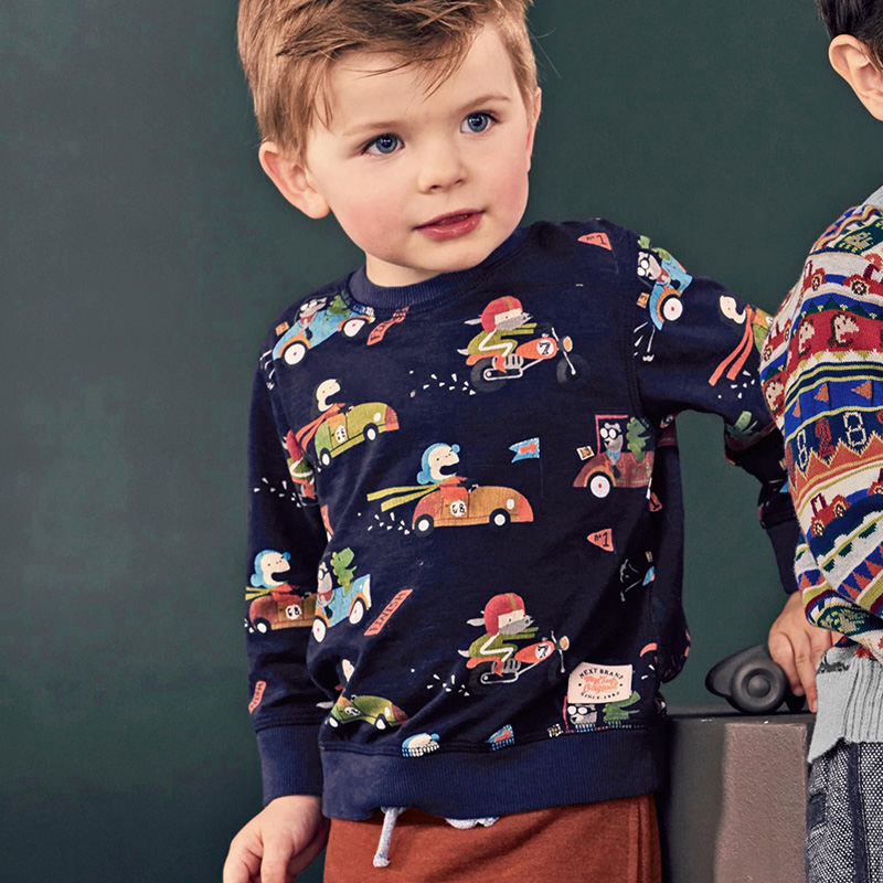 Little-maven-baby-boys-clothes-2017-autumn-children-cotton-long-sleeve-terry-knitted-racing-car-print-thick-t-shirt-C0039-2