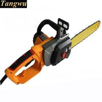 Free shipping electric chain felling woodworking saws household electric chain saw copper motor power shipping