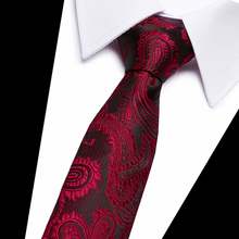 Classic 100% Silk Mens Ties New Design Neck 7.5 cm Plaid&Striped for Men Formal Business Wedding Party Gravatas