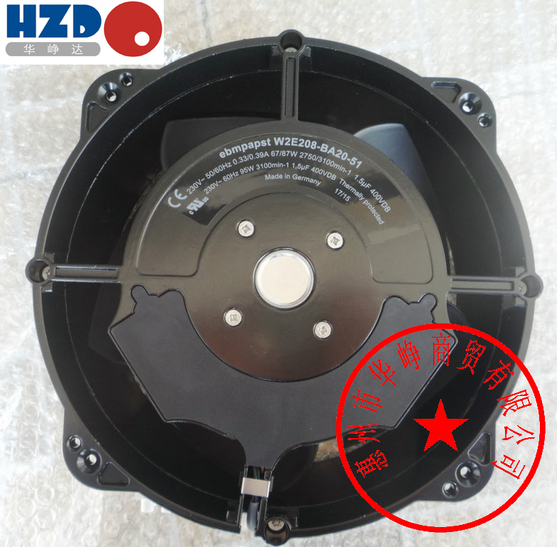 EBM PAPST W2E208-BA20-51 AC230V 232*80mm Full metal cooling fan W2E208-BA20-01-51 скатерть les gobelins chiens круглая диаметр 160 см