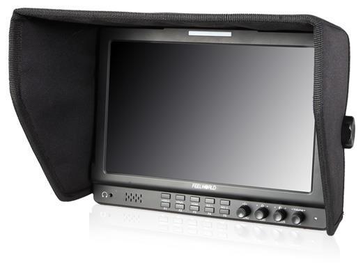 FW1019 10.1 אינץ IPS שדה צג עם גל Vectorscope צבע היסטוגרמה 3G-SDI Feelworld מצלמת DSLR חיצוני מסכי LCD